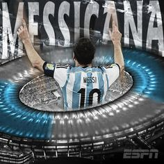 Today, Brazil's most famous stadium was lit up by a classic goal from Argentina's Lionel Messi.