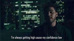 abel tesfaye help him gain confidence!!!