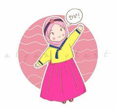 Korean muslimah