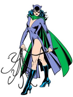 Catwoman by Jose Luis Garcia Lopez