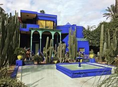 イヴ・サンローランのヴィラ・オアシス(Yves Saint Laurent, Villa Oasis)