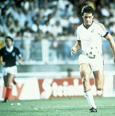 Scotland 5 New Zealand 2 in 1982 in Malaga. Steve Wooddin runs through to score on 64 mins and its 3-2 in Group 6 at the World Cup Finals.