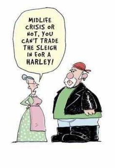 Santa biker. Lol