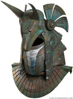 Lost Arcana, fuskida: Anubis helmet of the type which was...