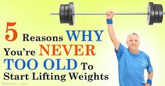 Weight training is important throughout your life, but in many ways, it becomes even more important as you age. http://fitness.mercola.com/sites/fitness/archive/2015/01/23/weight-training-older-adults.aspx