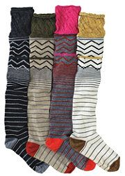 i've recently become super obsessed with tall socks-possibly because i live in seattle... and i want to be a hipster.