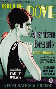 American Beauty (1927)...For once, the typo isn't mine.  Bizarre Los Angeles.