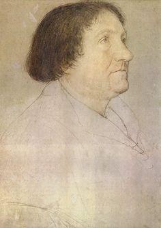 Portret van Jakob Meyer zum Hasen, burgemeester van Basel - Hans Holbein de Jongere 1528
