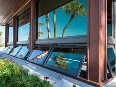 Marvin Family of Brands offers a wide variety of awning windows that can be used on their own or as a complement to casement or picture windows.