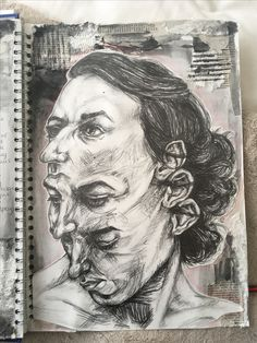David Theron -A level Sketchbook Art
