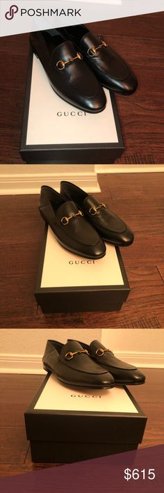 4f5ba87150d GUCCI Black Brixton Loafers 40 GUCCI Brixton Loafers Brand new with box.  Purchased at neimans