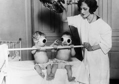 It Looks Like A Horror Movie Set... Then You Realise These Used To Be 'Cures'. Creepy. It was taken in Chicago at the Chicago Orphan Asylum in 1925. It shows babies being cured from Rickets, by being tanned.