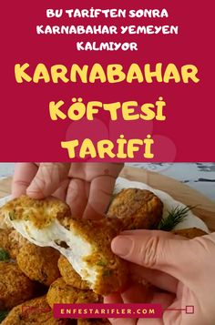 Karnabahar Köftesi Tarifi Vejeteryan yemek tarifleri – The Most Practical and Easy Recipes Cauliflower Patties, Cauliflower Recipes, Turkish Recipes, Ethnic Recipes, Patties Recipe, Sports Food, Snack Recipes, Healthy Recipes, Food Presentation