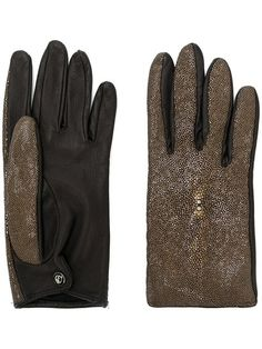 VTG NEW NEIMAN MARCUS SUEDE LEATHER W//SILK LINED /& CRYSTAL DECORATED GLOVES $155