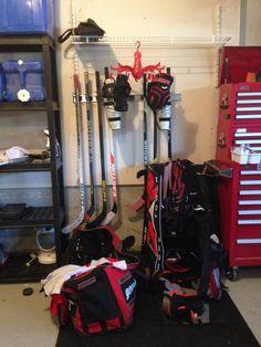 Evolution Sports Storage Rack For Hockey Sticks   Sports Equipment  Organizing   Pinterest   Sports Storage, Storage Rack And Hockey