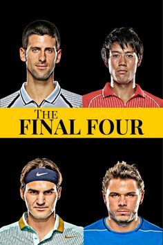 The top 8 are now down to 4. Will it be #Djokovic, #Federer, #Wawrinka or #Nishikori that takes the 2014 Barclay's ATP World Tour Finals title?