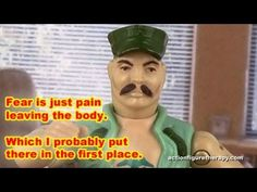 Real Marines Aren't Afraid of Sh*t - Action Figure Therapy