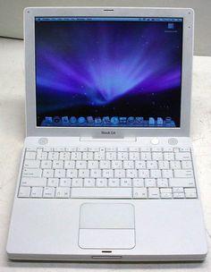 """Apple iBook A1054 G4 1.2GHz/512MB/30GB DVD-CDRW/OSX10.5.8/12.1"""" display   eBay"""