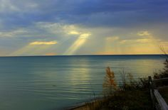 3. Is there anything better than a sunrise? Even on a cloudy day, Lake Huron offers one-of-a-kind morning views.