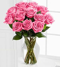 Send this one dozen lovely long stemmed pink roses bouquet to you Aunt on Easter. Nothing says sweet romance like these soft pink rose arrangements.