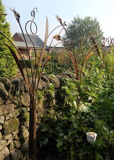 Captivating Hand Forged By Artist Blacksmith Adrian Stapleton Of Trinity Forge, An 8m  Garden Screen Which