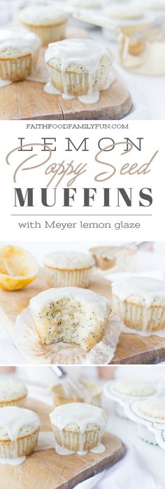 We make these lemon poppy seed muffins for Saturday morning breakfast before watching cartoons and lounging in our PJs all day!
