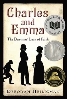 """Read """"Charles and Emma The Darwins' Leap of Faith"""" by Deborah Heiligman available from Rakuten Kobo. Charles Darwin published The Origin of Species, his revolutionary tract on evolution and the fundamental ideas involved,. Kids Reading, Reading Lists, Reading Books, Emma Book, Good Books, Books To Read, Theory Of Evolution, National Book Award, Charles Darwin"""