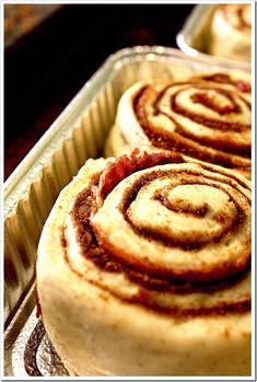 Bacon Swirl Cinnamon Rolls, what could be better?