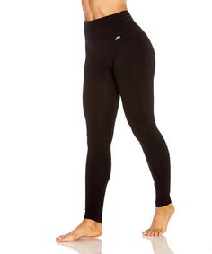 Another great find on #zulily! Black Camille Tummy-Control Leggings #zulilyfinds