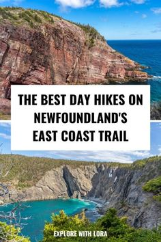 The East Coast Trail is a beautiful 336km long hiking trail along the Avalon Peninsula of Newfoundland Canada . Discover the best hiking trails on the East Coast Trail. Includes ideas for day hikes and overnight hikes in Newfoundland, plus tips on navigating the what to bring hiking. #hiking #newfoundland #canada Best Hiking Gear, Hiking Tips, Kayak Camping, Camping Hammock, America City, North America, East Coast Canada, Newfoundland Canada, Outdoor Travel