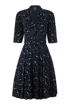 Emily and Fin Rose Dress Midnight Shooting Star
