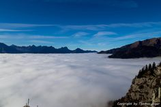 Copyright by Thomas Giger Scenery, To Go, Adventure, Mountains, World, Travel, Beautiful, Future Tense, Mists