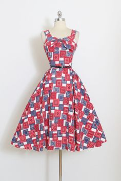 Vestidos Vintage Dos Anos 50, Vestido Retro, Roupas Vintage, Moda Dos  Cinqüentas, 58b41cb378