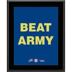 "Navy Midshipmen Fanatics Authentic 2015 Beat Army 10.5"" x 13"" Sublimated Plaque - $29.99"
