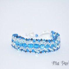 "Bracelet cristal swarovski ""personnalisable"""