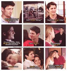 Naley... I want to be someone's girl and have him be proud to say it...