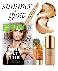 """""""Summer glow"""" by stephanieadeline ❤ liked on Polyvore featuring beauty and Estée Lauder"""