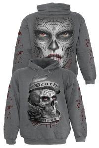 Spiral - Gothic Hoodie / Kapuzenshirt - Death Mask