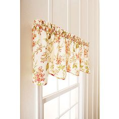 Autumn Fruits Kitchen Curtain Valance by Annas Linens httpwww