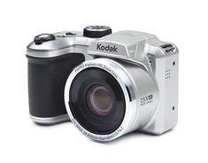 Kodak Digitalkameras Mpix Optischer Zoom 25 x Kodak Pixpro, Nikon Coolpix, Wide Angle Lens, Binoculars, Silver, Ebay, Cameras, Decoration, Color