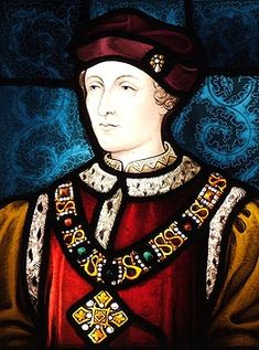 Henry VI of England, an ineffectual king, in stained glass