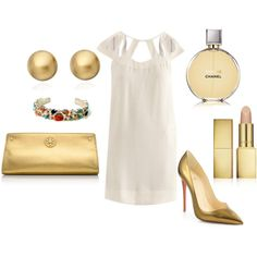 """""""Gold"""" by erin-elise-beck on Polyvore"""
