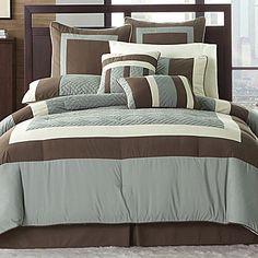 Comforter Set, Studio Belle Harbor 8-piece - jcpenney