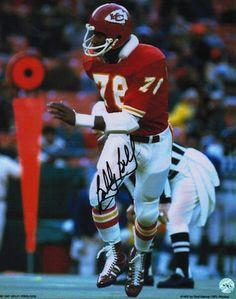 Autographed Bobby Bell Kansas City Chiefs 8x10 Photo