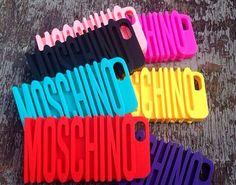 Leandra Slabbert Moschino Iphone cases