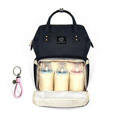 HEYI Diaper Bag Backpack Travel Large Spacious Tote Shoul...