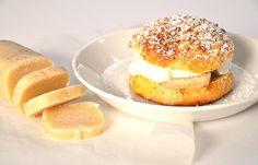 Vähähiilariset laskiaispullat - sokeriton ja gluteeniton