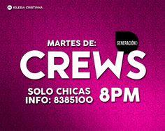 Crews - Martes de Crews Chicas