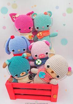 Mesmerizing Crochet an Amigurumi Rabbit Ideas. Lovely Crochet an Amigurumi Rabbit Ideas. Kawaii Crochet, Cute Crochet, Crochet Crafts, Yarn Crafts, Crochet Projects, Crochet Patterns Amigurumi, Amigurumi Doll, Crochet Dolls, Do It Yourself Inspiration