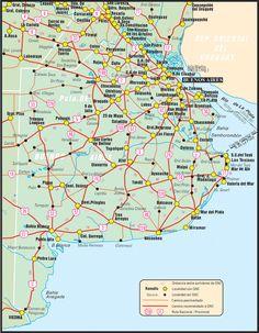 Estaciones de GNC en Argentina - Rutas y mapas - Servicios GNC